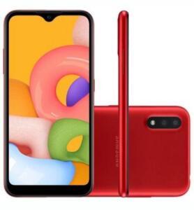 Celular Samsung A01, 32G, 13MP | R$590