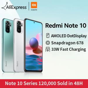 Smartphone REDMI NOTE 10 4GB 64GB | R$1080