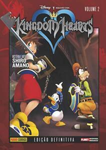 Kingdom Hearts Vol. 2: Capa Dura (45% off) | R$33