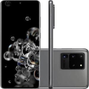 "Smartphone Samsung Galaxy S20 Ultra 128GB 6.9"" R$4857"