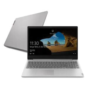 "Notebook Lenovo AMD Ryzen 5-3500U 8GB 1TB Tela 15.6"" Windows 10 Ideapad S145 - R$2972"