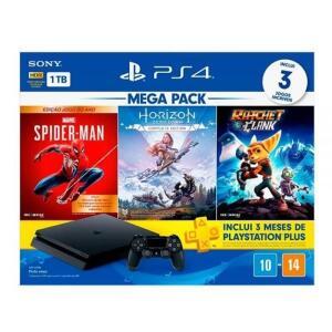 Playstation 4 Mega Pack 15 1TB com Jogos | R$ 2501