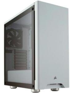 Gabinete Corsair Gamer Carbide 275R Branco com Lateral em Vidro Temperado R$400