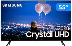 "Smart TV 55"" Samsung Crystal UHD 4K 2020 UN55TU8000 - R$2609"
