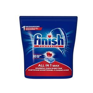[prime] Tabletes Detergente Para Lava-Louças Finish Powerball, 30 Tabletes   R$27