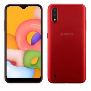 (Reembalado) Samsung Galaxy A01 Vermelho 32GB | R$550
