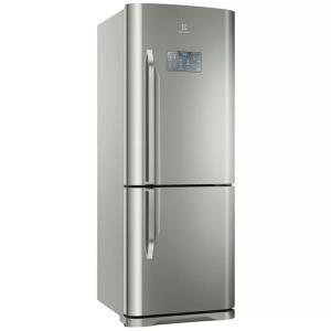 Geladeira Refrigerador Electrolux 454L Frost Free Inverse DB53X - Inox - 110 Volts | R$ 3059