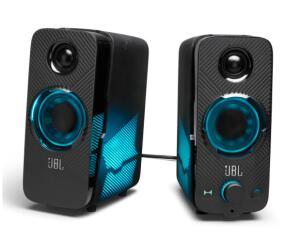 Alto-falantes JBL Quantum Duo para PC - Preto   R$899
