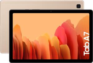 "Tablet Samsung Galaxy Tab A7 Dourado com 10.4"" ( WIFI + 4G ) 64GB"