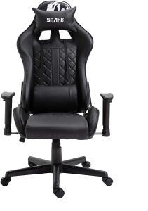 Cadeira Gamer Snake Mamba Negra Preta | R$969