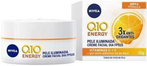 (Prime) Creme Facial Antissinais Dia Nivea Q10 Plus C Fps15 50mL | R$31