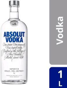[C. Ouro] Vodka Absolut Original | 1L - R$64