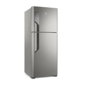 [APP] Geladeira Electrolux Duplex TF55S Top Freezer 431L Platinum - 110V   R$2582