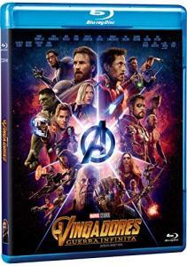 [PRIME] Blu-Ray - Vingadores: Guerra Infinita | R$20