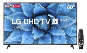 "Smart TV LED 60"" UHD 4K LG 60UN7310PSA | R$3.134"