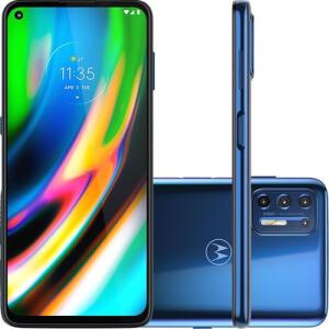 Smartphone Moto G9 Plus Azul Índigo 128GB | R$1.717