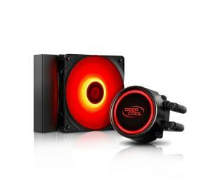 [AME+CC SUB R$219] Water Cooler Deepcool Gammaxx L120T red