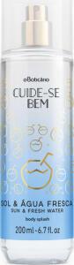 Body Splash Desodorante Colônia Cuide-Se Bem Sol e Água Fresca, 200ml R$33