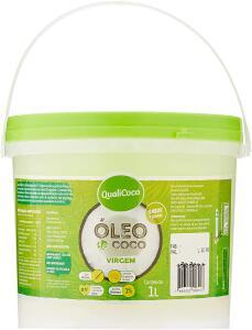 Óleo de coco - 1 litro - Qualicoco | R$43