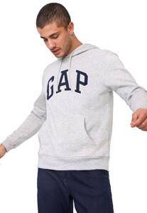 Moletom flanelado fechado Gap | R$135
