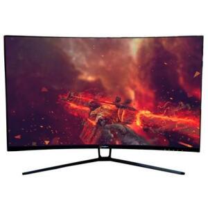 Monitor Gamer Husky Hailstorm LED 31.5' Widescreen Curvo, FHD, HDMI/DP,165Hz, 1ms, Adaptive Sync | R$1670