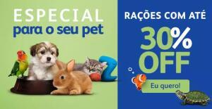 RAÇÕES SECAS E ÚMIDAS ATÉ 30% OFF