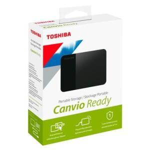 HD Externo Toshiba Portátil Canvio Ready, 2TB, USB 3.0 | R$400