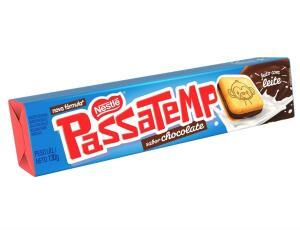 [Prime+Recorrência] Biscoito recheado Passatempo, chocolate 130g | R$1,23