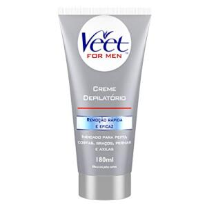 Creme Depilatório Corporal Veet For Men - 180ml | R$25