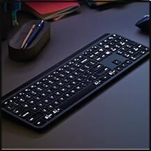 Teclado sem fio Logitech MX Keys | R$760