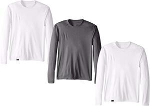 [PRIME] Kit com 3 Camisetas Proteção Solar Uv 50 Ice Tecido Gelado - R$100