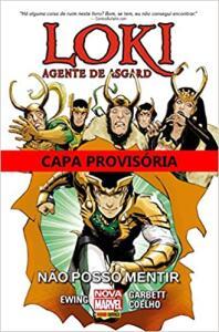 Loki. Agente de Asgard não Posso Mentir | R$20