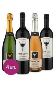 Winebox Família Toro Loco | r$ 185