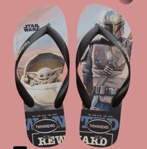 Chinelo Havaianas Top Baby Yoda - The Mandalorian   R$43
