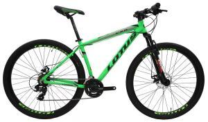 [AME r$1144] Bicicleta MTB Alúminio Cairu Lotus Aro 29 21 Marchas Shimano Freio à Disco Quadro 17.5 - R$1345
