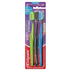 Colgate Escova Dental Colgate Ultra Soft, 3 Unidades - R$33