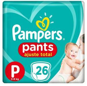 [APP]Fralda Pampers Pants P 26 uni R$16