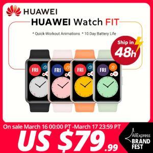 Smartwatch Huawei Watch Fit   R$481