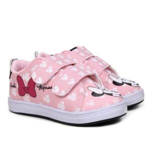Tênis Infantil Disney Minnie Fashion Feminino - Rosa | R$ 20