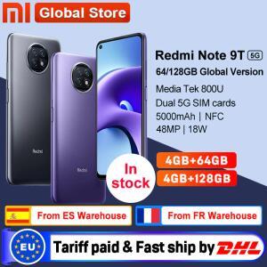 Smartphone Xiaomi Redmi Note 9t 5G - 4GB 64GB | R$1.185