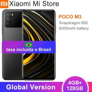 Poco m3 128gb 4gb RAM | R$1016