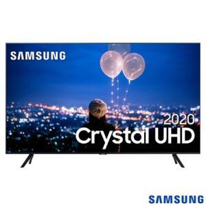 "Samsung Smart TV Crystal UHD TU8000 4K 65"" | R$ 3509"