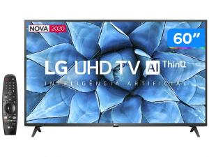 "Smart TV LED 60"" UHD 4K LG 60UN7310PSA R$3039"