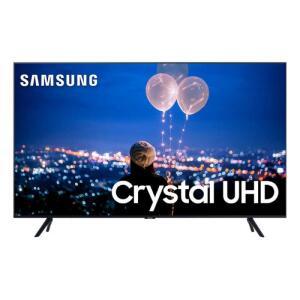 "Smart TV 50"" Samsung Crystal UHD 4K 2020 UN50TU8000 Borda Ultrafina Visual Livre de Cabos Wi-Fi HDMI R$2429"