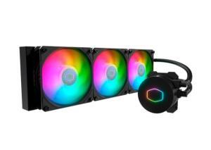 Water Cooler - Cooler Master Masterliquid 360mm, RGB | R$750