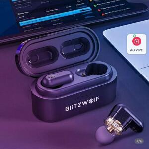 Fone de ouvido Blitzwolf BW FYE7 TWS Bluetooth[PRIMEIRA COMPRA]