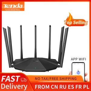 [Primeira Compra] Roteador Gigabit Tenda AC23 (7 antenas e dual band) R$205