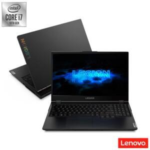 Notebook Gamer Legion 5i Lenovo, Intel®️ Core™ i7, 16GB, 1TB+128GB SSD, 15,6″ - R$8499