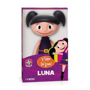 Boneca Luna em Vinil Estrela - R$50