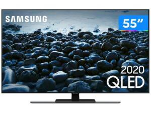 "Smart TV 4K QLED 55"" Samsung Q80T | R$4.607"